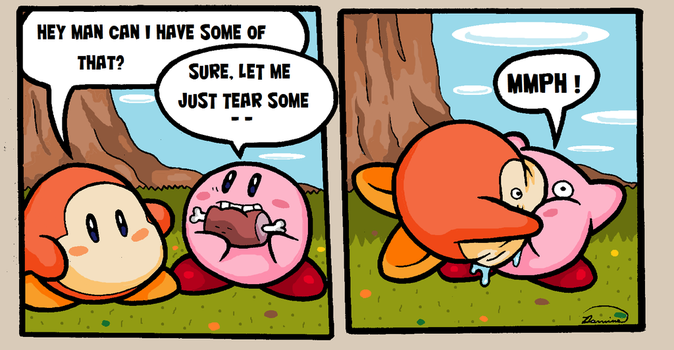 Kirby 2 by Dominosaur