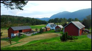 Again at the farm in Norway by jchanders