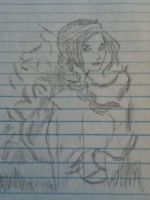 my drawing of the girl on fire by seth-whetzel