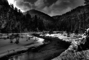 Black Hills Stream by MikeDaBadger