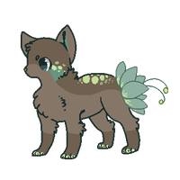 Flowerbutt Cat Adoptable Auction CLOSED by StarSushi-Adopts