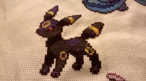 Noctali / Umbreon by MykaStitcher