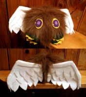 Winged Kuriboh plushie by SakiRee