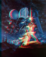 Star Wars displacement 3-D by MVRamsey