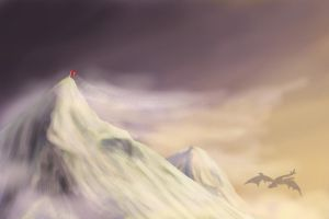 The Summit_iTouch Painting by Tsitra360