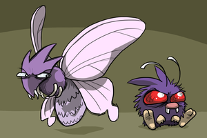 The Venonat Family by Zerochan923600