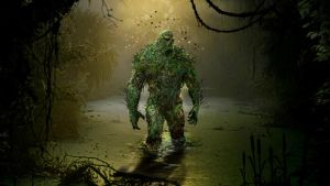 Swamp Thing by uncannyknack