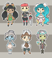 Fantasy Cheebs -- CLOSED by Hardrockangel-Adopts