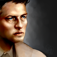 castiel again by Megano2525