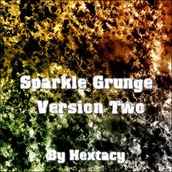Sparkle Grunge V2 15 brushes by Hextacy