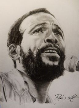 Marvin Gaye by ThugF0rLife