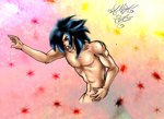 half naked colored by kanogt