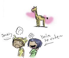 Coraline :GIRAFFES: by Super-Cute