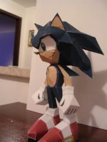 Sonic Papercraft by Tiffyx