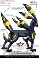 Pokedex 197 - Umbreon FR by Pokemon-FR