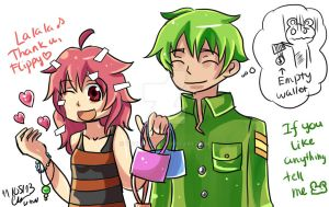 HTF: Go shopping by Puyo0702