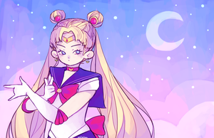 sailor moon by Tokkotea