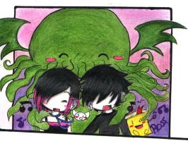 Cthulhu, uncle  nass, and me by lovescraf