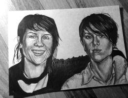 Tegan and Sara by McInFringe