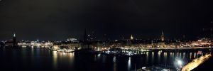 Stockholm by night by mkrtchyan