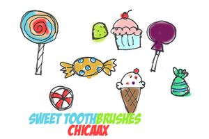 Sweet Tooth Brushes by chicaax