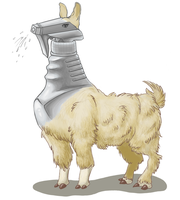Llama Spray Bottle by Zehful