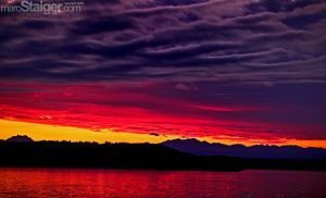 sunset puget sound style by stranj