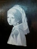 The Girl With a Pearl Earring by KhalifClayton