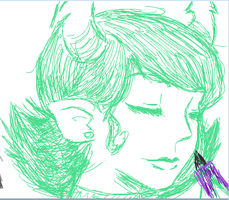 iscribble homestuck 5 by littlestar21