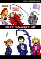 FMA: Happy Holidays 08' by AniRichie-Art