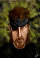 Snake Eater - Big Boss by Laito-no-Sekai