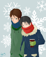 Winter - Ereri by inorganico