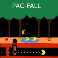Pac-Fall by Flectarn