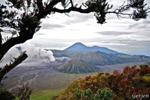 Mount Bromo by Gerjen