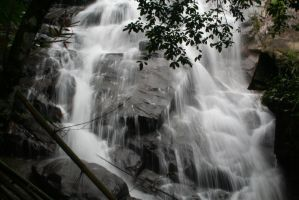 Waterfall - Implying Motion by myintermail