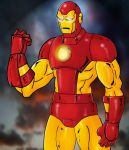 Classic Iron Man by Mawnbak