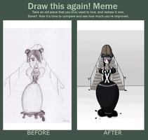 Draw this again MEME by Wolle8890