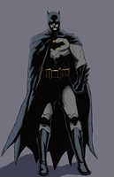 Batman: Rebirth by spriteman1000