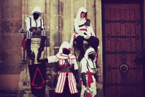 The Assassins in Leipzig by HaoruCold