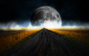Road to Moon! by etino7