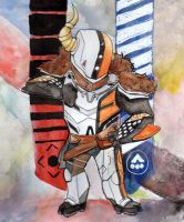Lord Shaxx by xoes