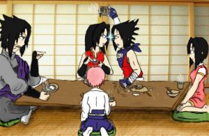 Dinner at the Uchiha's by 1amm1