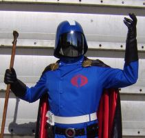 Cobra Commander with cape 4 by FraterSINISTER