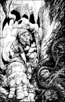 Hellboy Inks by acosorio