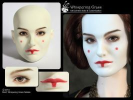 Whispering Grass Natalie faceup - Amidala by scargeear