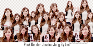 Pack Render Jessica Jung By Les by yenlonloilop7c