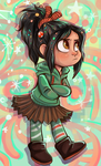 Vanellope by sharkie19
