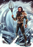 JL: Aquaman by DarkLitria