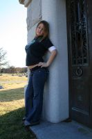 Blonde in the Cemetery - 13 by SafariSyd