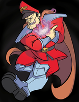 SF: M. Bison by MJRainwater
